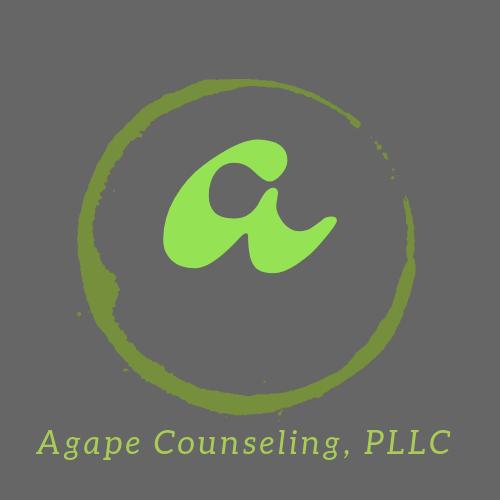 Agape logo grey
